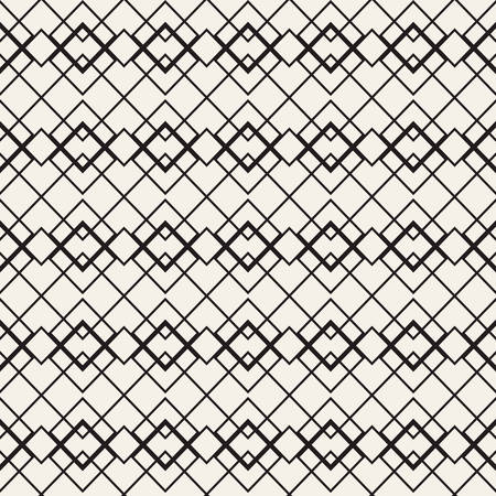 Seamless square patterns. Vector illustration