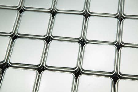 metal box: Texture of metal box Stock Photo