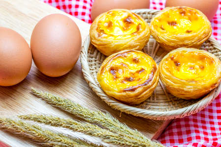 egg tart: Egg tart