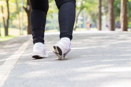 Ankle sprain while jogging