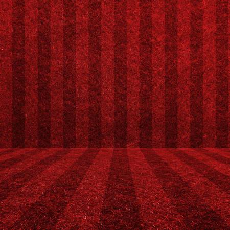 red grass: Red grass soccer field background