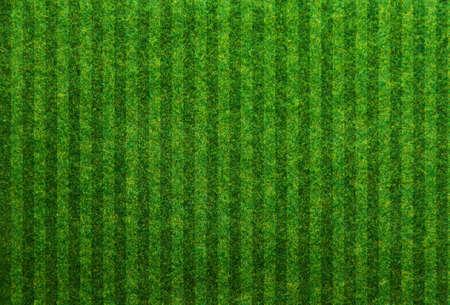 Groen gras voetbal veld achtergrond