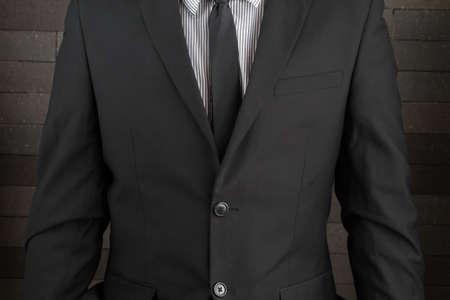 tuxedo: Man in suit Stock Photo