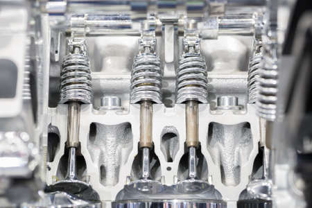 pistons: Pistons of cars Stock Photo