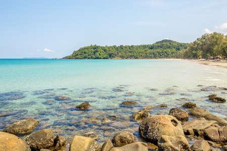 kood: Beach and tropical sea at Koh kood island, Trat province, Thailand