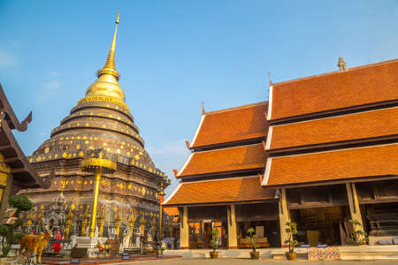 Wat Phra That Lampang Luang. Ancient Buddhist temple and most significant temple in Lampang province, Thailand