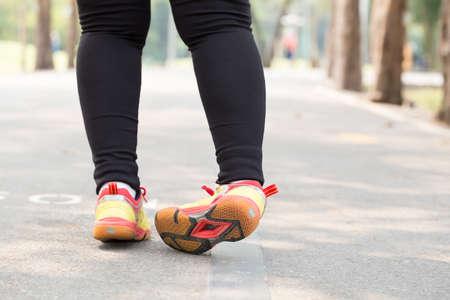 Entorse de la cheville en faisant du jogging