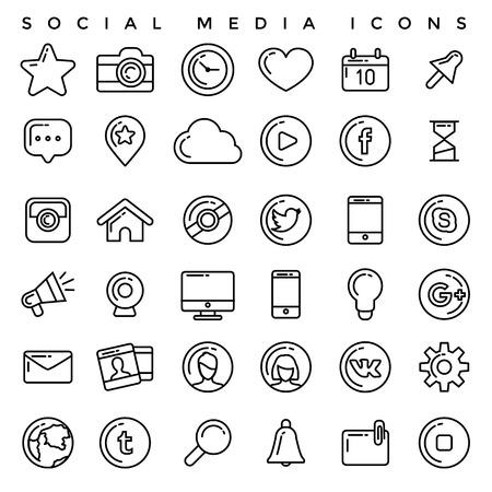 ソーシャル メディアのアイコンを設定