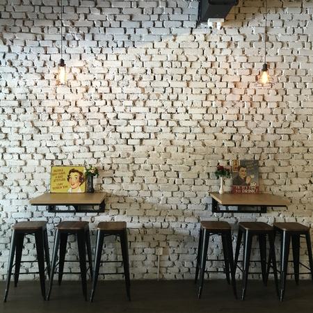 neighbourhood: Seating arrangement at a neighbourhood cafe