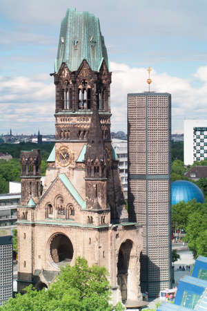 Kaiser Wilhelm memorial church, Berlin, Germany