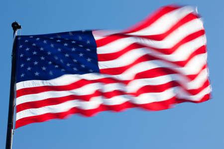 The American flag 写真素材