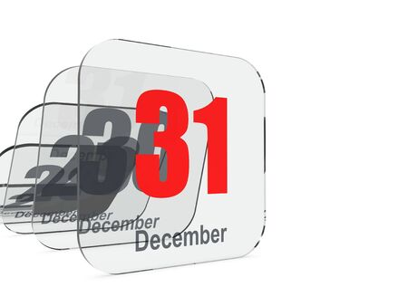 the end of the year: 31 December - End of year
