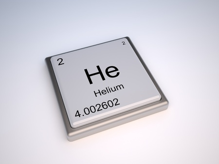 Helium chemical element of the periodic table with symbol He - IUPAC Stock Photo - 9224090