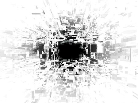 Digital black hole photo