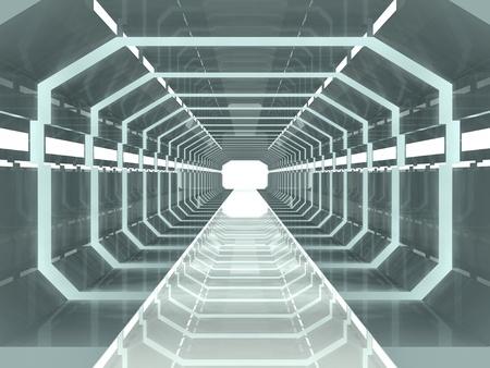 fi: Science fiction corridor