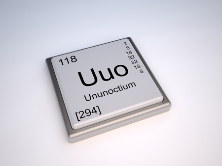 chemical element: Ununoctium chemical element of the periodic table with symbol Uuo