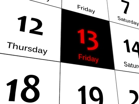 superstitions: Black Friday 13th