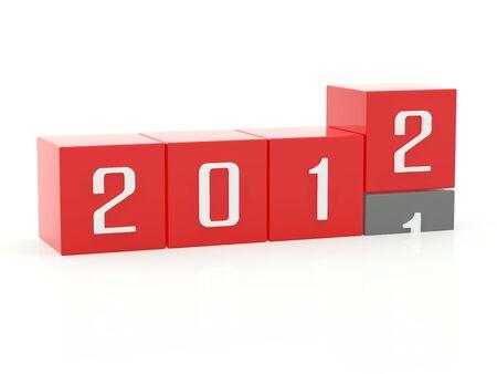 cronologia: Nuevo a�o 2012 empujando hacia abajo de 2011