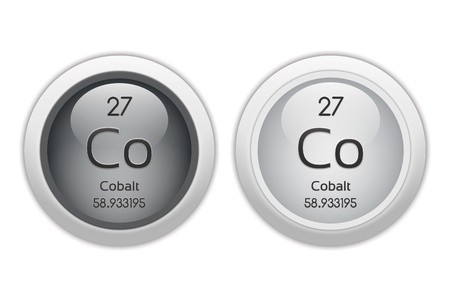 Cobalt - two glossy web buttons photo
