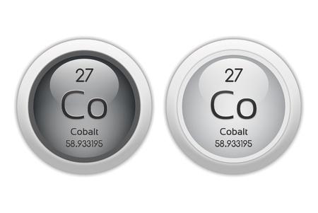 cobalt: Cobalt - two glossy web buttons