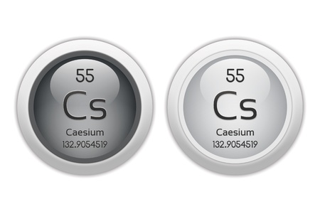 cs: Caesium - two glossy web buttons