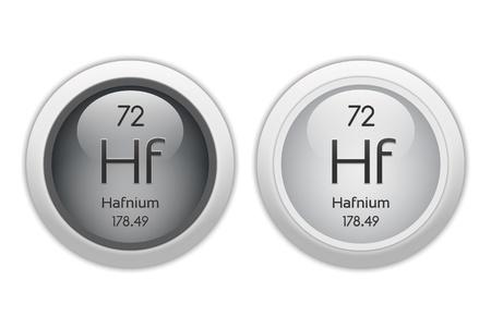 hf: Hafnium - two glossy web buttons