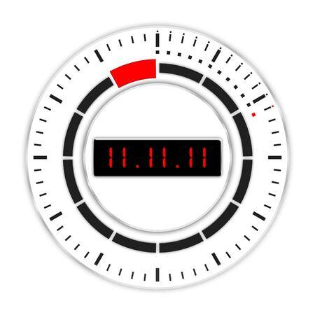 explosive watch: 11.11.11 - unique day