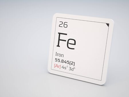 26: Iron - element of the periodic table