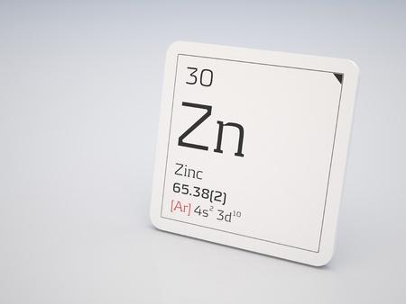Centrarse en zinc elemento qumico de la tabla peridica de el zinc elemento de la tabla peridica photo urtaz Images