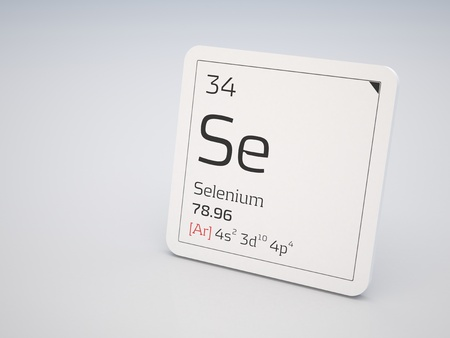 Selenium - element of the periodic table photo