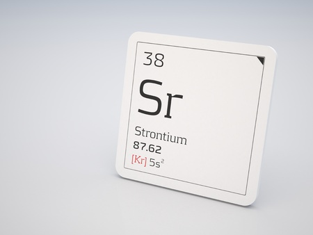 strontium: Strontium - element of the periodic table