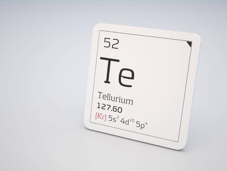 Tellurium - element of the periodic table photo