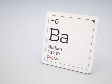 barium: Barium - element of the periodic table