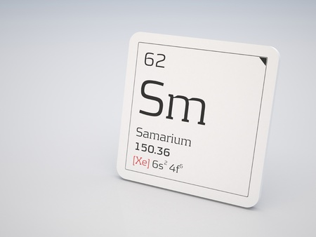 lanthanide: Samarium - element of the periodic table