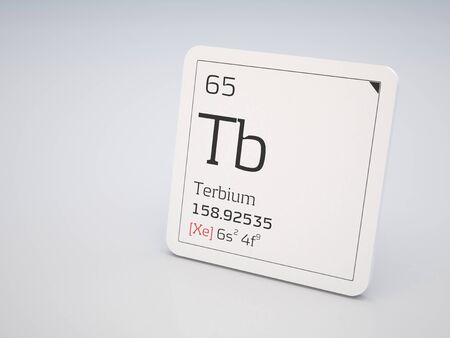 lanthanide: Terbium - element of the periodic table