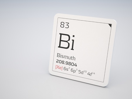 bismuth: Bismuth - element of the periodic table