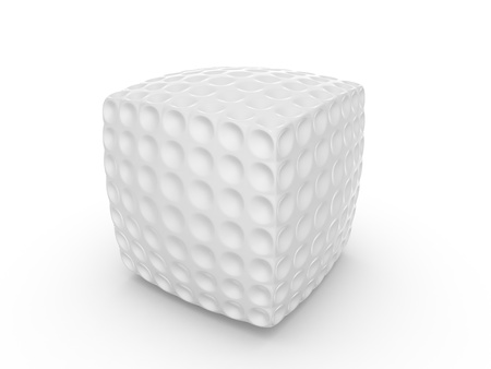 Golf cube Stock Photo - 13113446