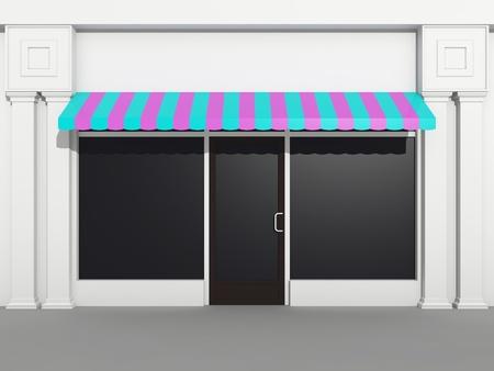 store front: Shopfront - store front Stock Photo