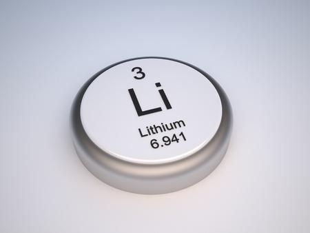 lithium: Lithium capsule Stock Photo