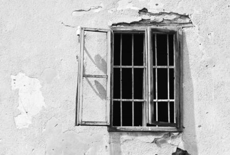 Prison window Stock Photo - 14040936