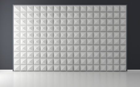acoustical: Acoustic room Stock Photo