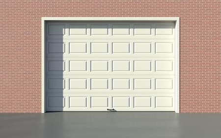 Garage door Imagens - 14491222