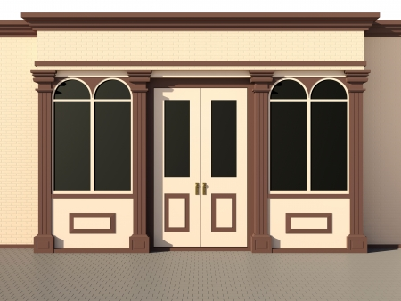 Shop front - classic store front Stock Photo - 14752457