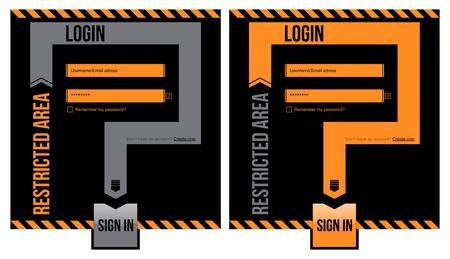 area restringida: Zona de acceso restringido. Ingresa formulario. Usuario y la contrase�a necesarios.