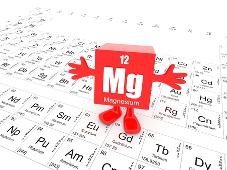 My name is Magnesium and this is the Periodic Table Imagens - 14857038