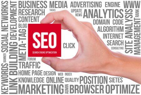 SEO - Search Engine Optimization Stock Photo - 14857035
