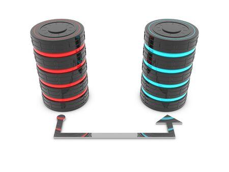 Backup-Technologie von Symbol - Datenbankserver