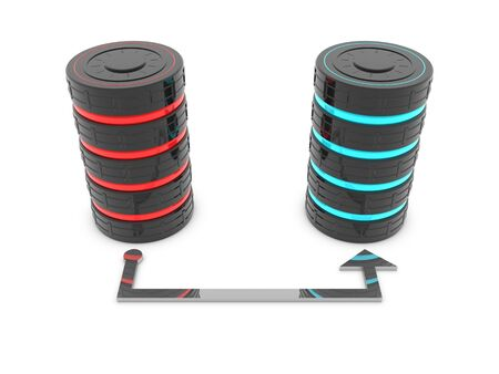 Backup-Technologie von Symbol - Datenbankserver