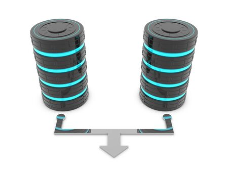 bandwidth: Two hard disks offers more more bandwidth when working together