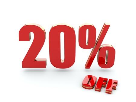 20 Percent off Imagens